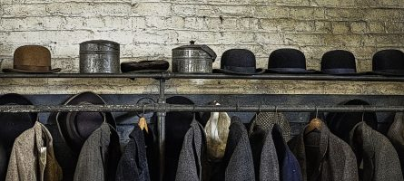 Hat & Coat Room by Steve Bandura